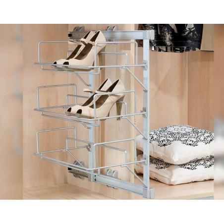 Porte chaussures pour aménagement d'armoires (Keeper)