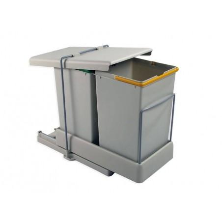 Poubelles à extraction automatique 28L