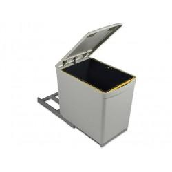 poubelle 1 bac 16l gestion des dechets accessoires cuisines. Black Bedroom Furniture Sets. Home Design Ideas