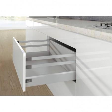 Bandeaux latéraux blanc pour tiroir HETTICH Arcitech