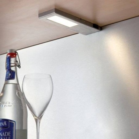Spot LED sur profil rectangulaire