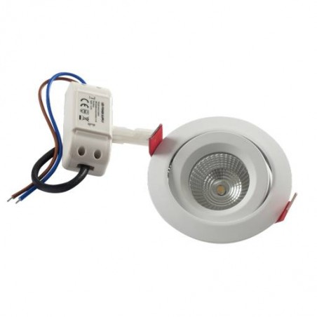 Spot LED inclinable pour plafond