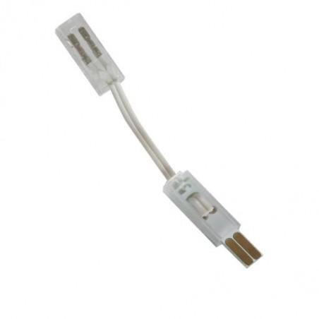 Angle de liaison pour barrette LED rigide