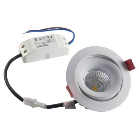 Spot LED inclinable 7W
