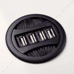 Prise USB avec passe-câbles