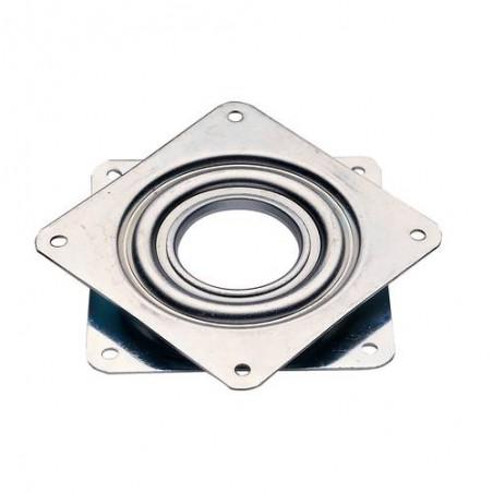 Support TV rotatif disques métalliques sur roulement à billes