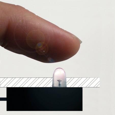 Cellule pour allumage LED TOUCH à encastrer