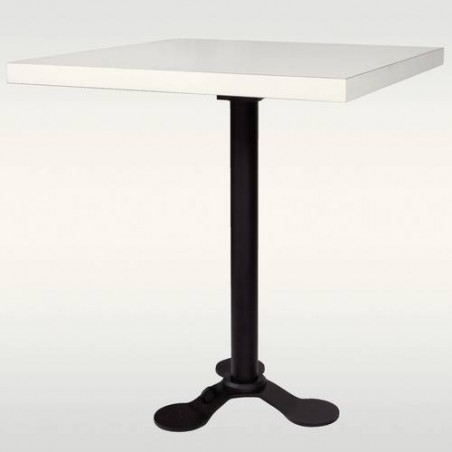 Pied de table escamotable