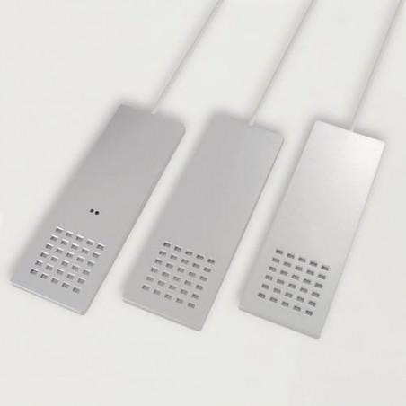 Kit de 3 spots LED rectangulaires en applique 12V