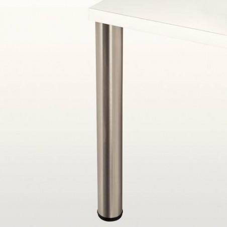 Pied de table métallique rond, diamètre 80mm
