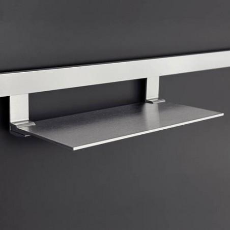 Tablette pour crédence moderne en aluminium