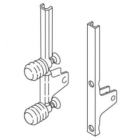 Attache façade pour tiroir LÉGRABOX hauteur K