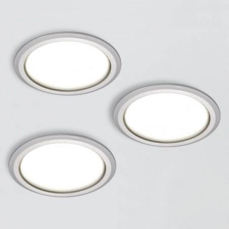 Kit 3 Spots LED diamètre 78mm