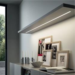 Luminaire LED à encastrer effet fluo