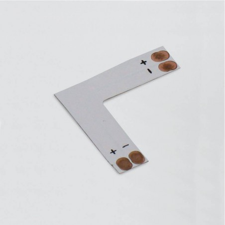 Raccord d'angle à 90° pour bande LED