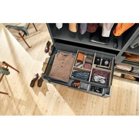 Boîte largeur 242 mm design bois