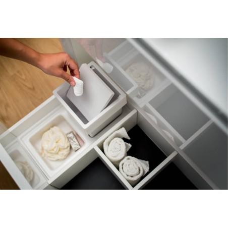 Range-accessoires et range-poubelle pour tiroir SDB