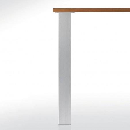 Pied de table carré 80mm