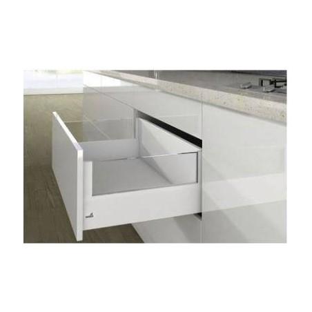 Kit tiroir à casseroles avec DesignSide blanc hauteur 186mm