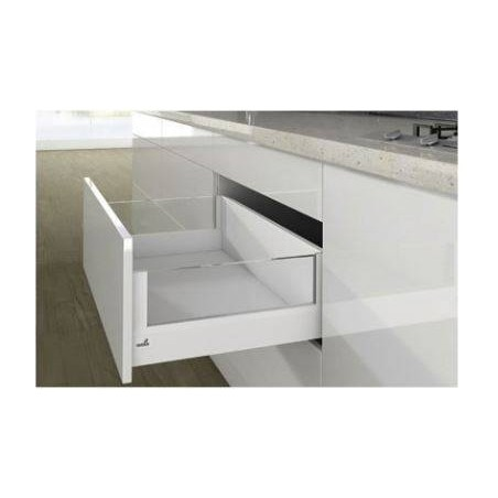 Kit tiroir à casseroles avec DesignSide blanc hauteur 218mm