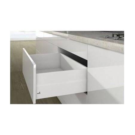 Kit tiroir à casseroles avec TopSide blanc hauteur 186mm