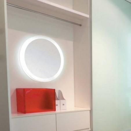 Miroir rond éclairant