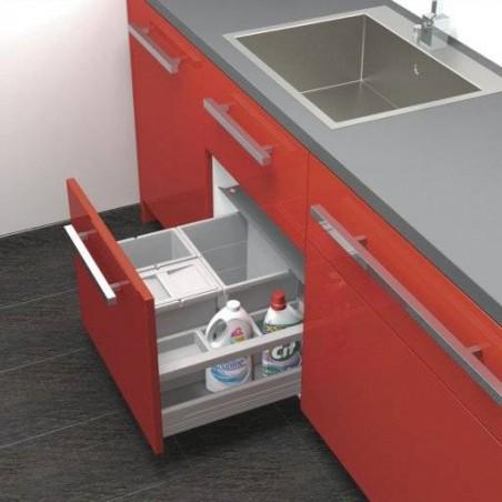 Aménagement poubelle pour tiroir