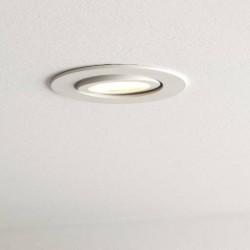 Spot led inclinable 5.4W installé au plafond
