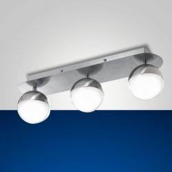 Plafonnier 3 spots LED 8W