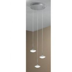 Suspension 3 spots LED 8W