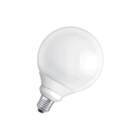 Lampe globe fluocompact