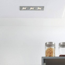 Spot 3 LED inclinable pour plafond