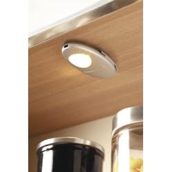 Profil éclairant à led pour intérieur de meuble dans un caisson