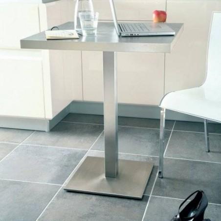 Pied de table central carré
