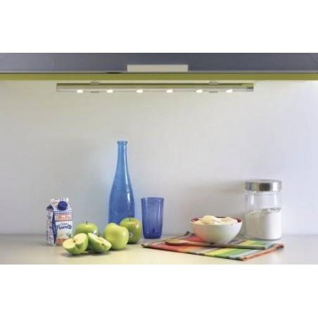 Profil rond LED sous meuble haut