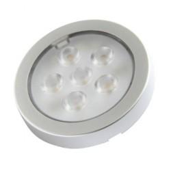 SPOT LED Finition alu 1.6 W