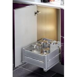panier de rangement pour meuble de 400 et 600mm accessoires cuisines. Black Bedroom Furniture Sets. Home Design Ideas