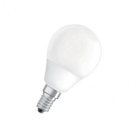 Lampe mini globe fluo compact