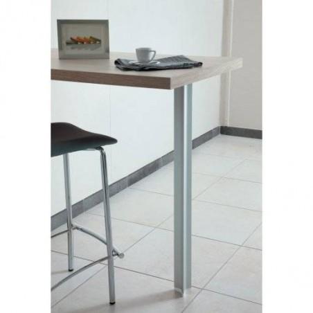 Pied de table et snack en aluminium