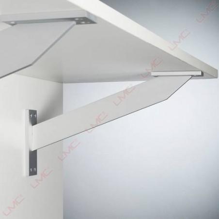 Console de bar droite fixation frontale sur le meuble