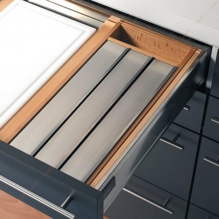 Range rouleaux pour tiroir