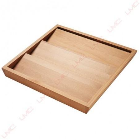 Range épices en hêtre pour tiroir