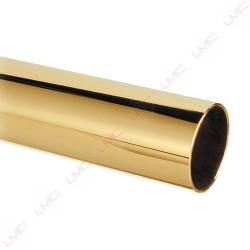 Tube laiton poli diamètre 38mm