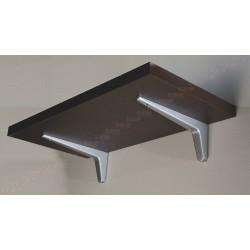 Console d'étagère pour tablette bois