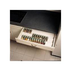 range pots pices blancs pour tiroir accessoires cuisines. Black Bedroom Furniture Sets. Home Design Ideas