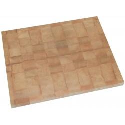 Billot de cuisine en bois debout, à encastrer.