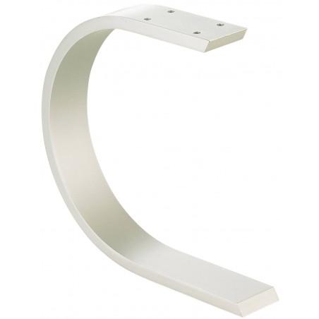 Console de bar courbée aluminium