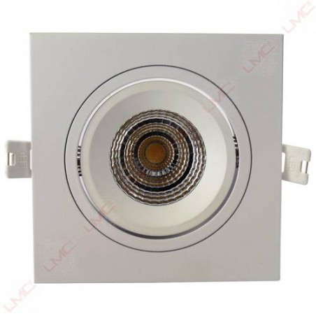 Spot LED carré à encastrer