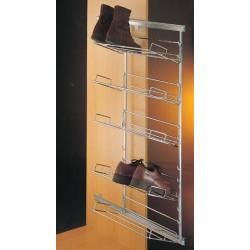 Tablette métallique pour range chaussures coulissant