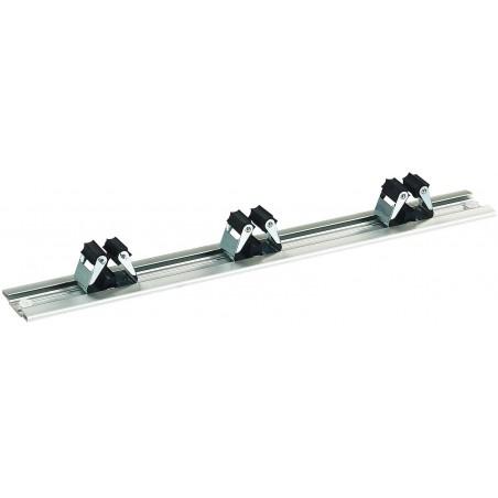 Barre porte balais en aluminium